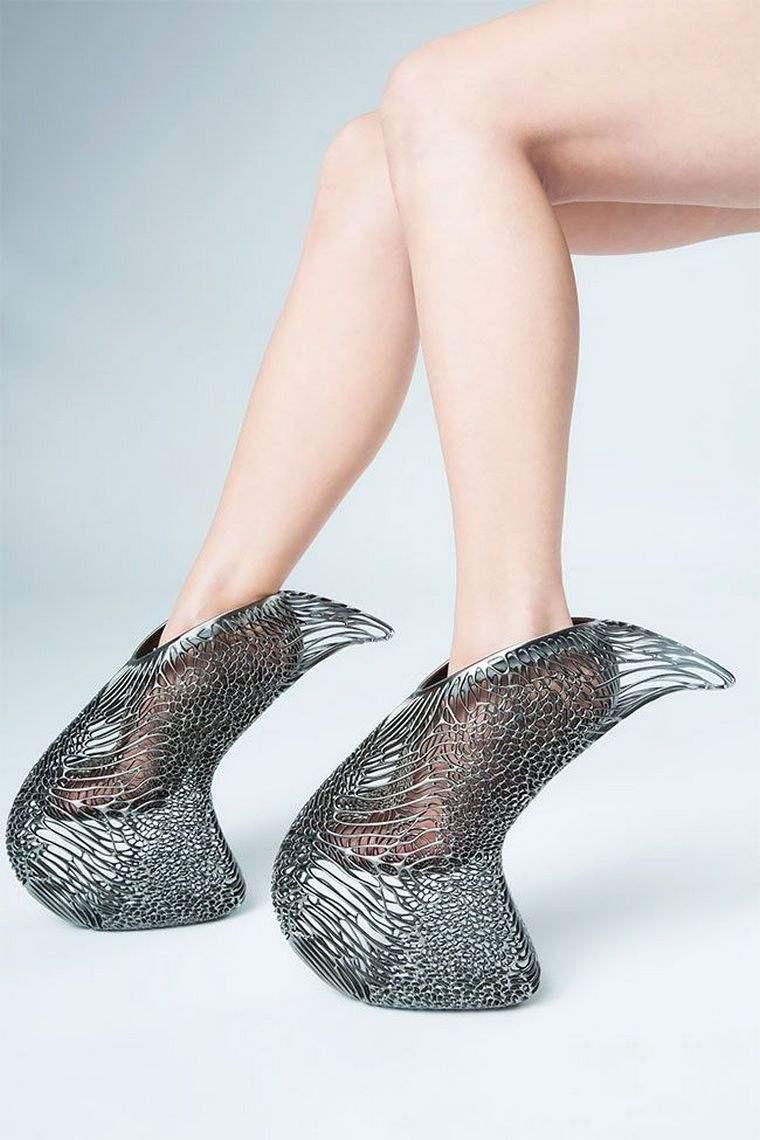 Ica Kostika Exobiology 3D high shoe without printed heel mycelium