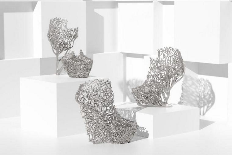 Ica Kostika Exobiology 3D printed shoe coral
