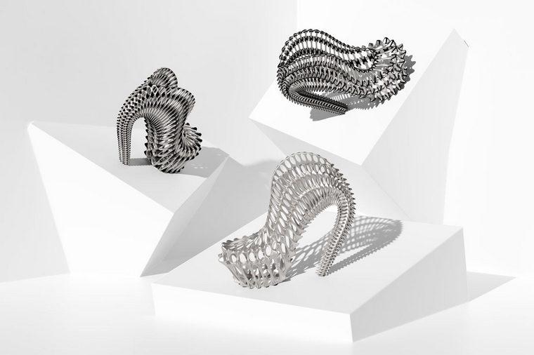 Ica Kostika Exobiology 3D printed shoes