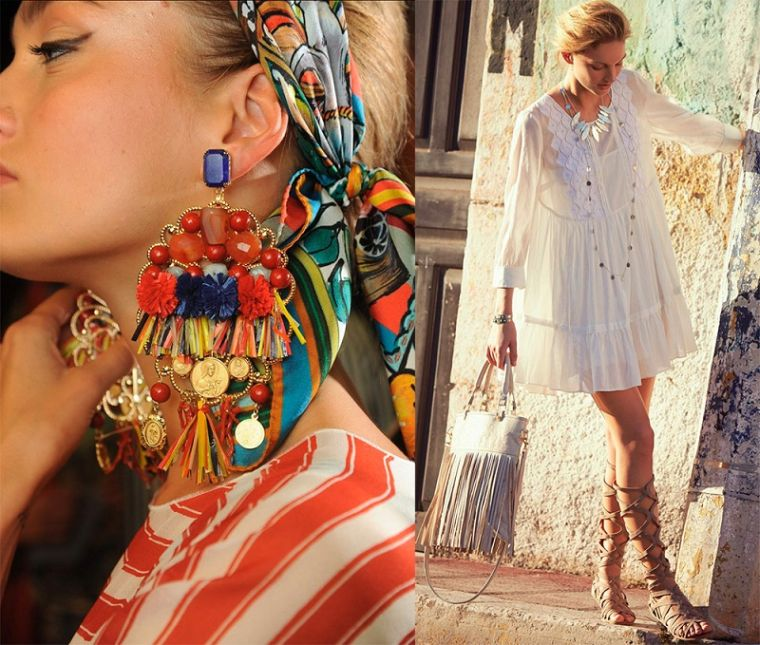 boho chic woman accessories