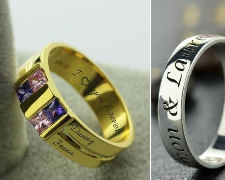 ring name ring-custom-jewel-trend-gift-idea