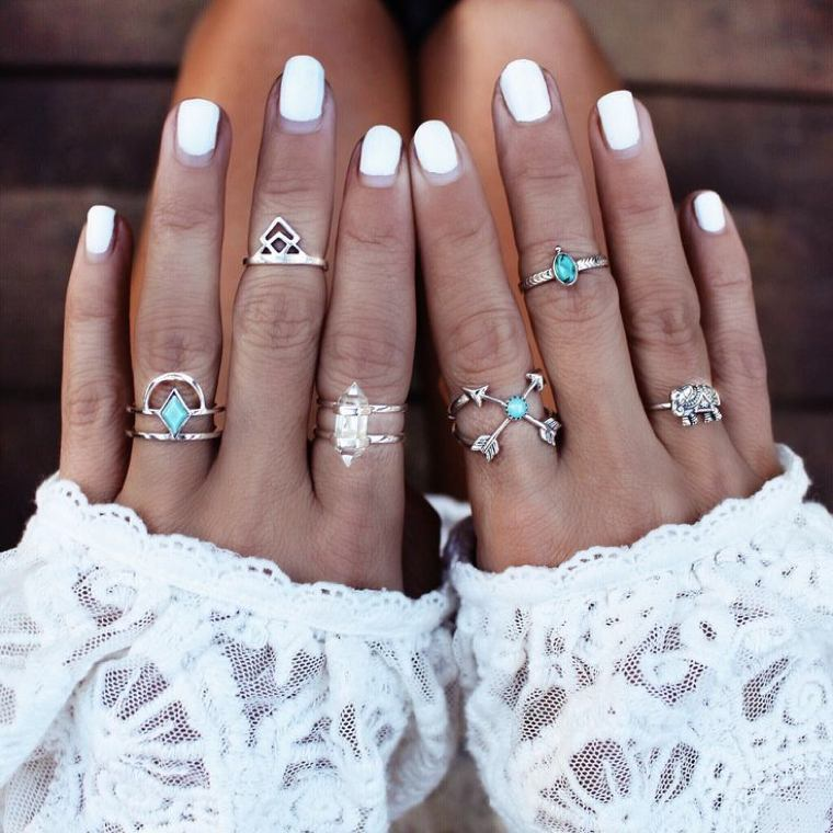 different trend-color rings