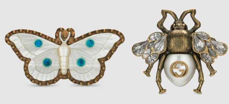 butterfly-and-scarabee trend rings