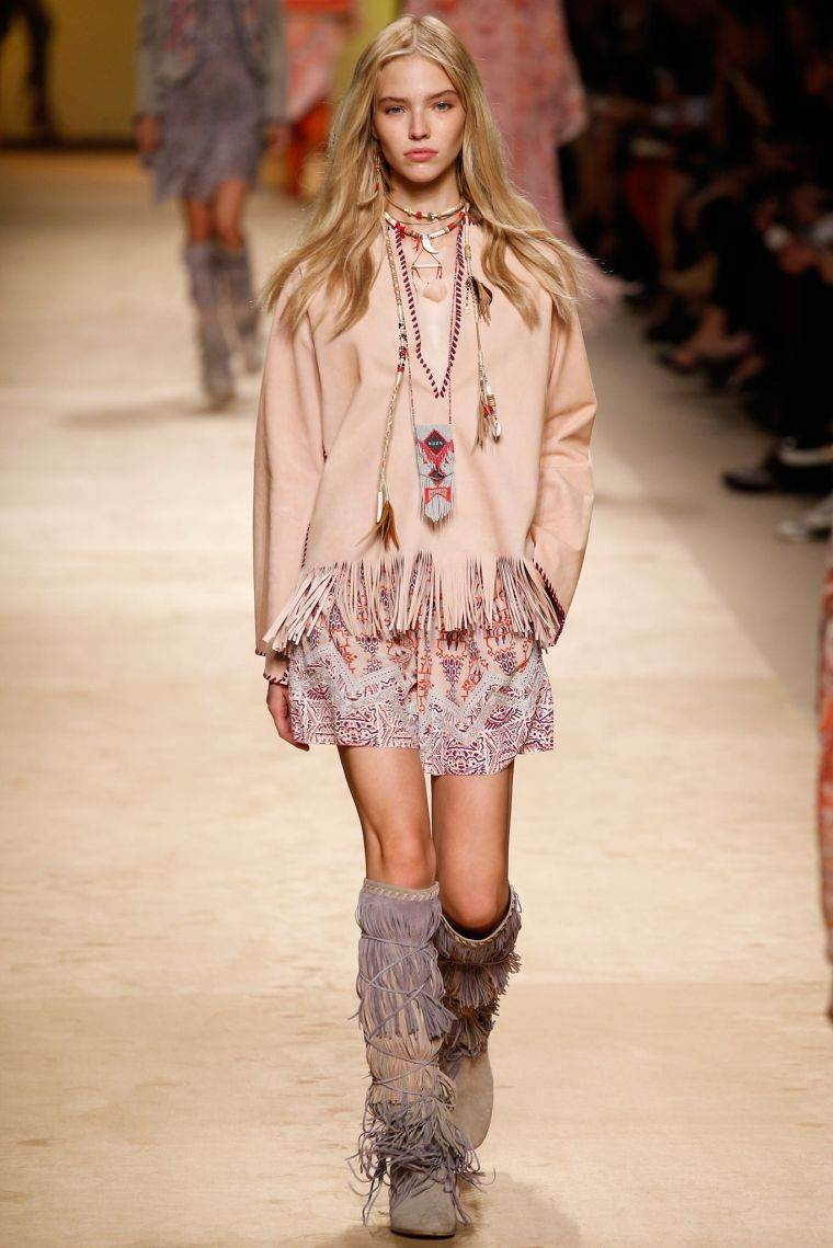 boho chic fashion woman ideas