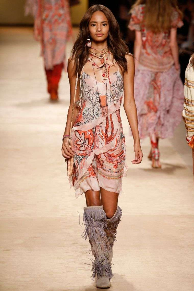 boho fashion fashion woman