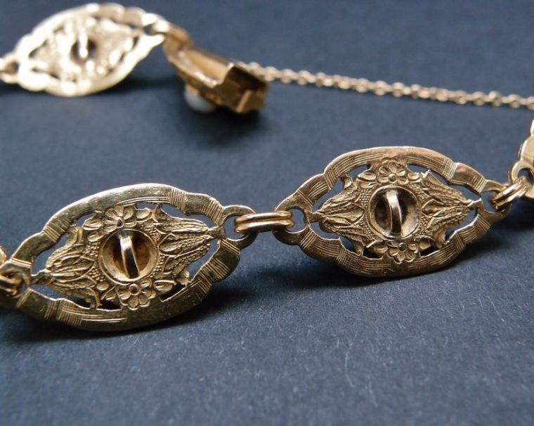 old gold bracelet expertise jewelry
