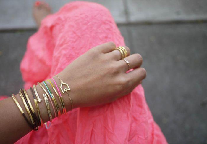 example of bracelet diy metal accessory tutorial