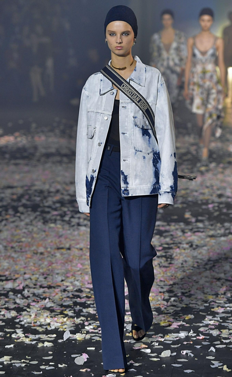 fashion spring 2019 woman look Christian Dior
