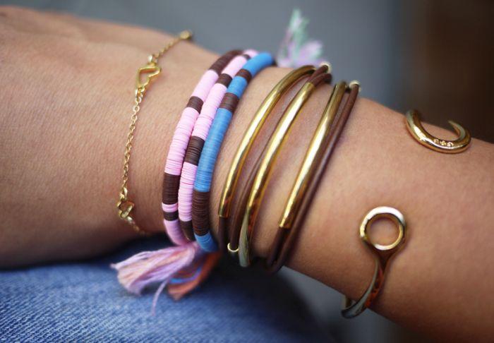 idea to make a bracelet accessories diy rope