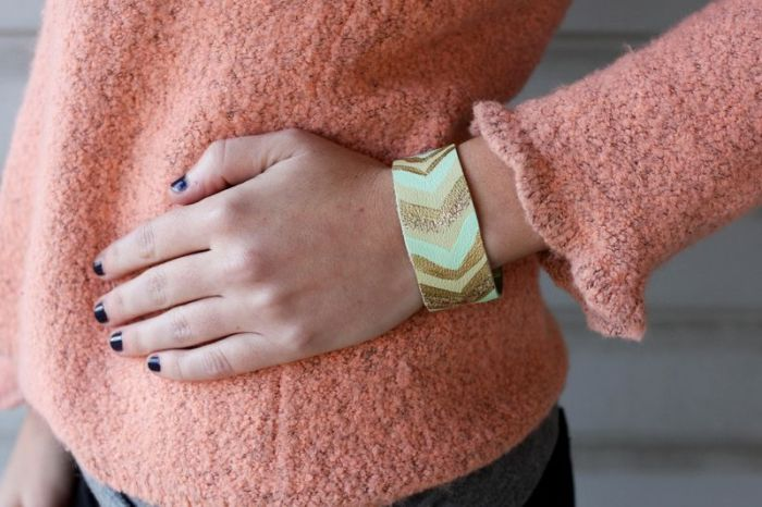 diy bracelet model accessory to do yourself textile
