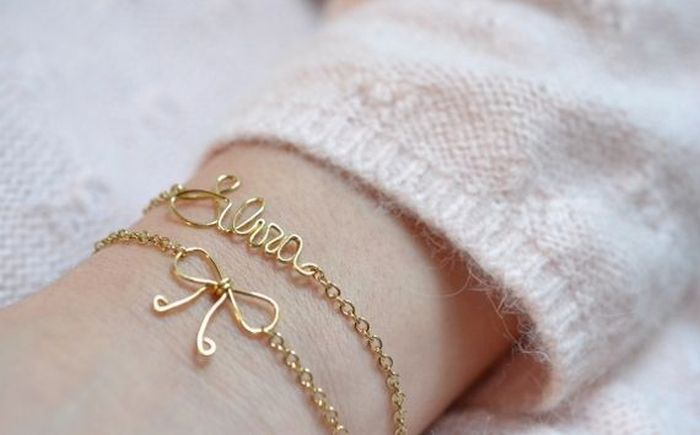 diy bracelet trend materials cheap metal chain accessories to wear idee