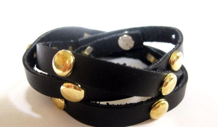 diy bracelet beads leather activity manual model to do