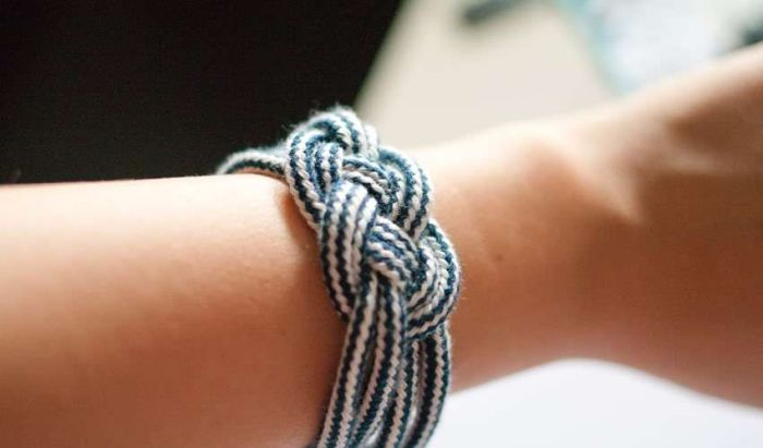 diy bracelet nautical idee easy tutorial rope marine style