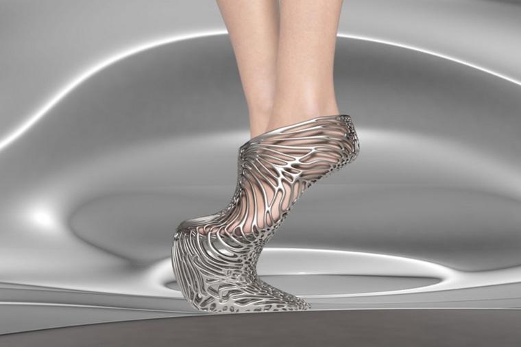 exobiology collection high shoe without heel mycelium ica kostika