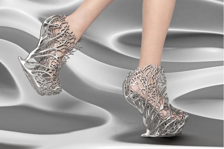 exobiology collection shoe heels ica kostika coral ramification