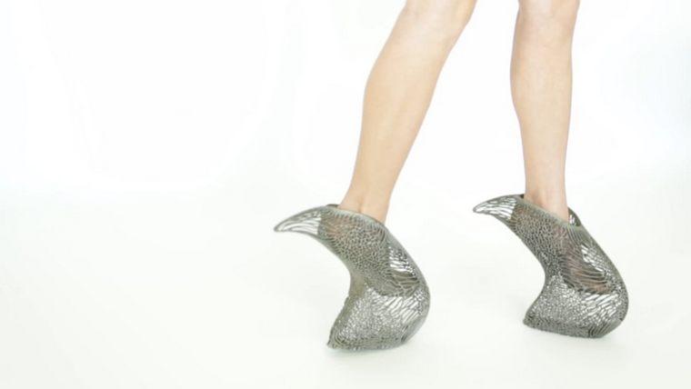 exobiology collection shoes heels mycelium ica kostika market