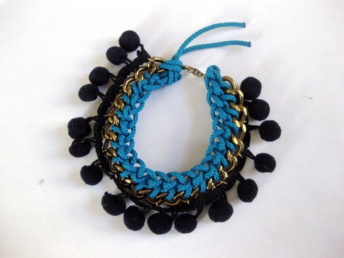 idea to make a bracelet diy easy tutorial accessory boho rope chain