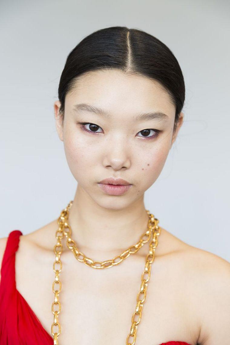 makeup-trends-spring-2019-Oscar de la Renta,