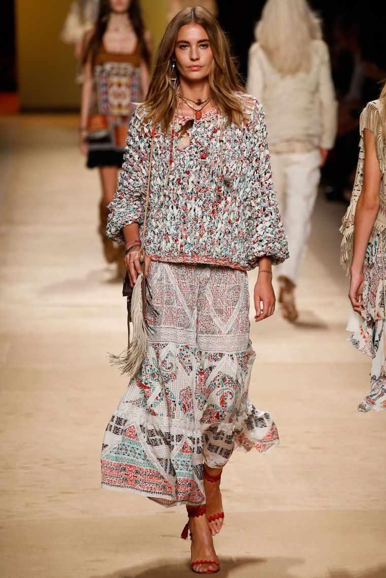 fashion bohemian chic woman dress