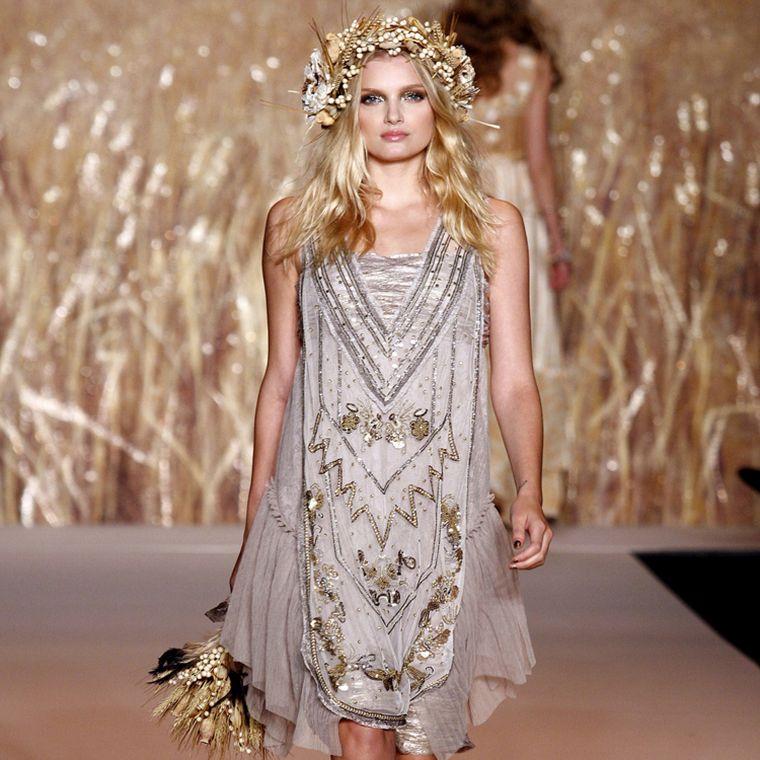 chic bohemian fashion idea spring summer