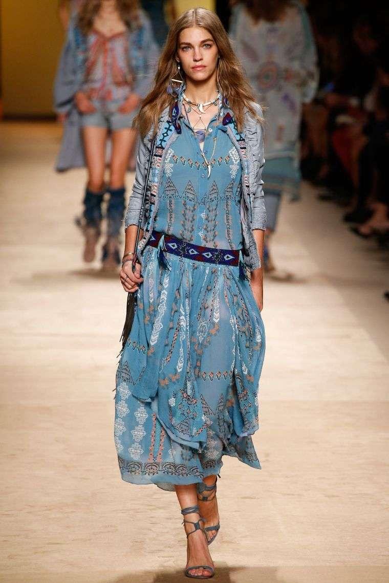 chic bohemian fashion ideas woman