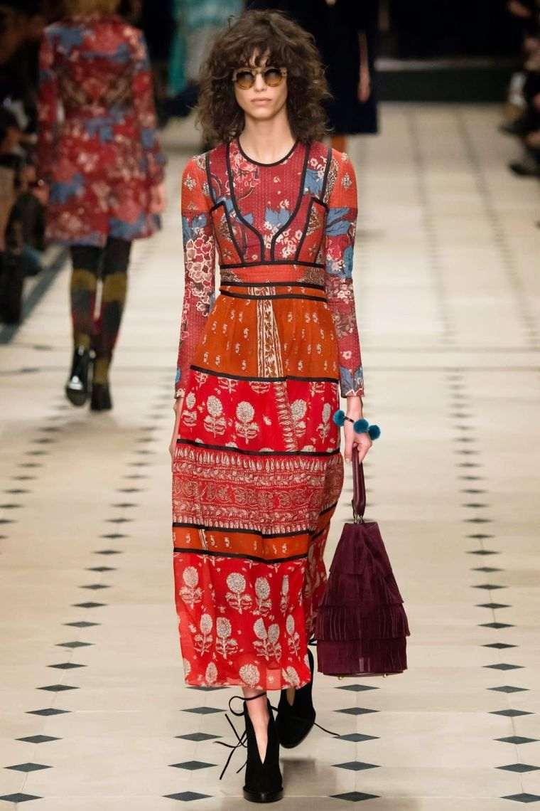 fashion bohemian chic long dress