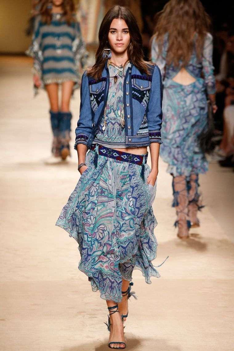 boho chic fashion idea