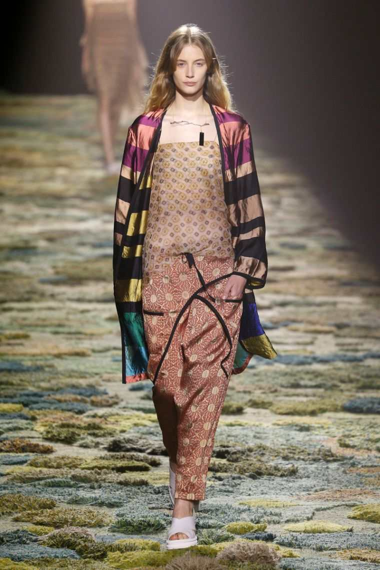 fashion boho woman spring