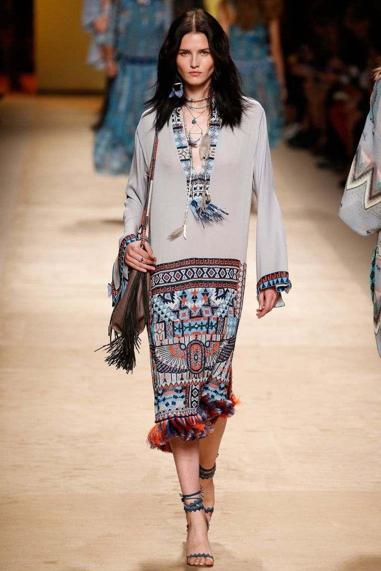 Fashion boho woman trends