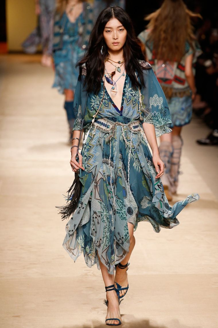 fashion woman boho chic ideas