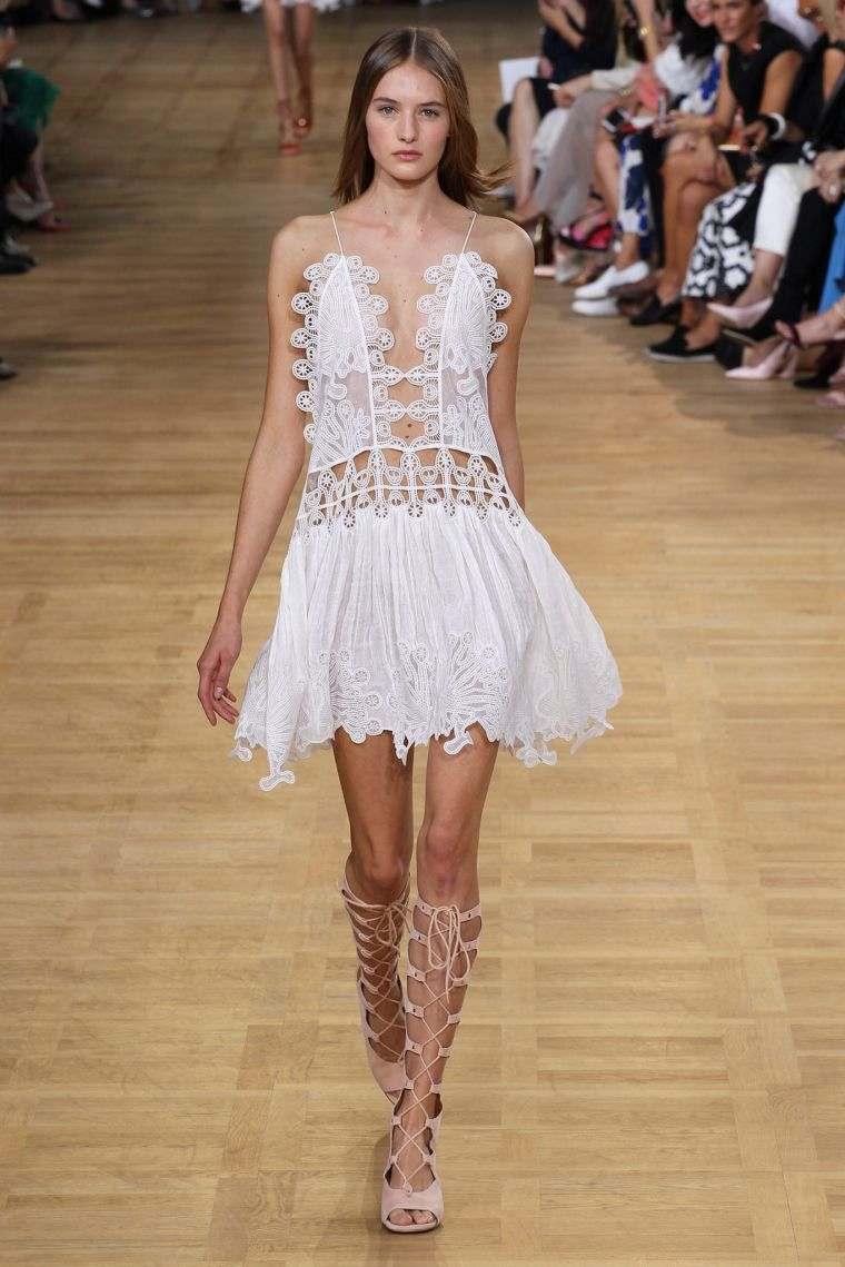boho chic white short dress