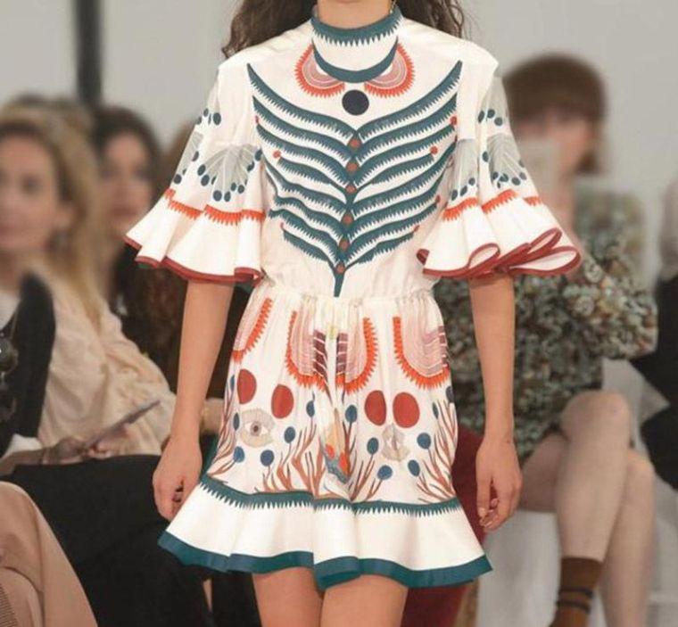 women's boho short dress