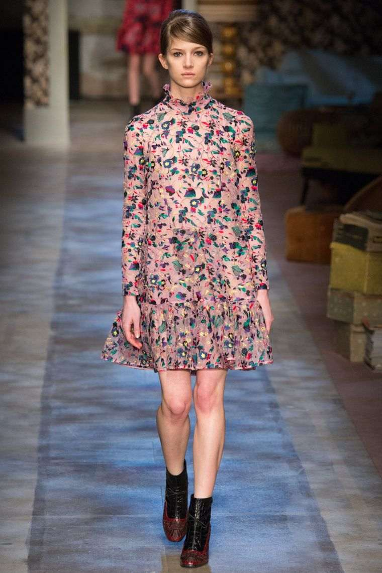 boho woman floral print dress