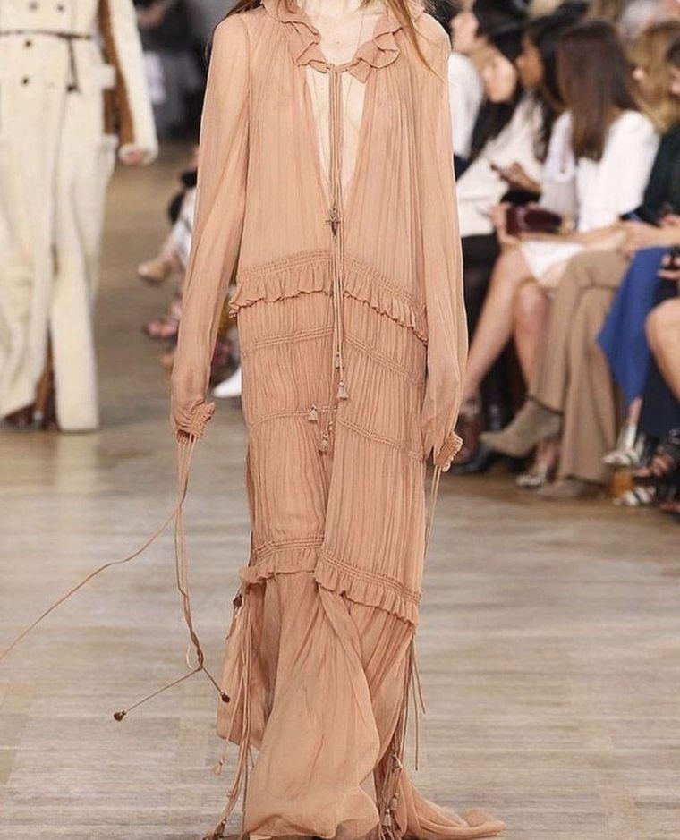bohemian style long dress