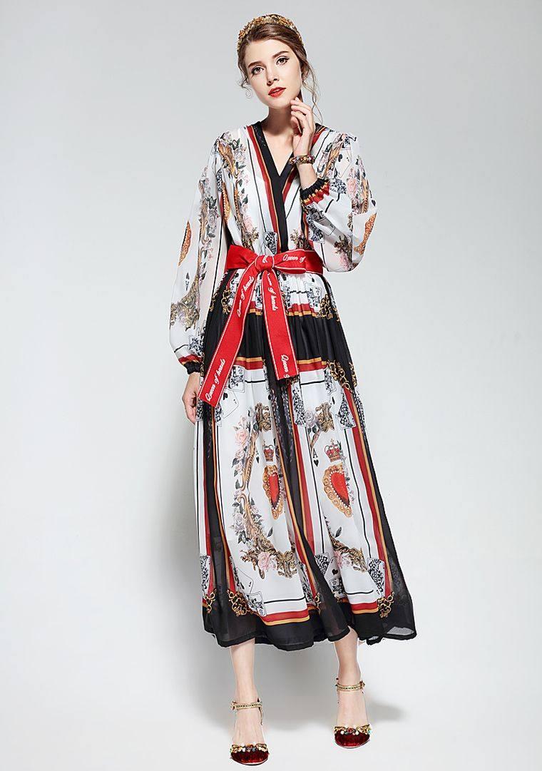 bohemian style spring dress