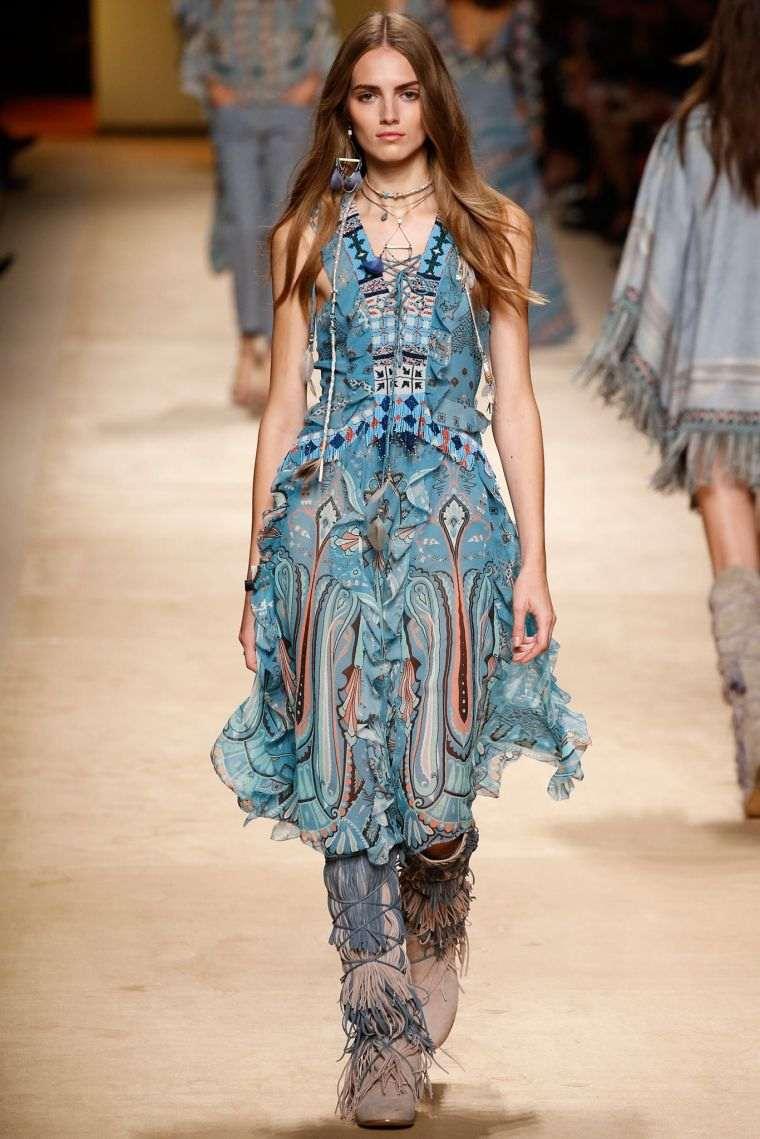 boho fashion woman style
