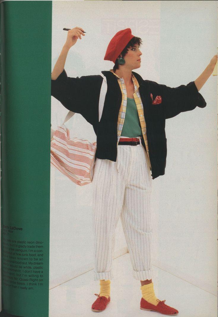 Best 80 S Fashion Look Esprit Ad 1985 Fashion Diiary
