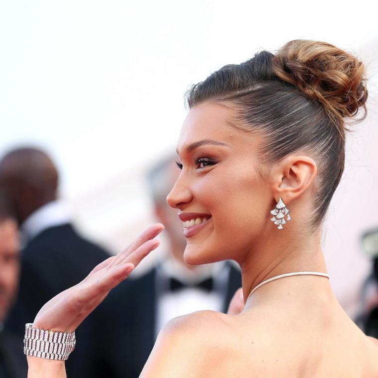 Cannes 2019 Bella Hadid Bulgari 72 edition
