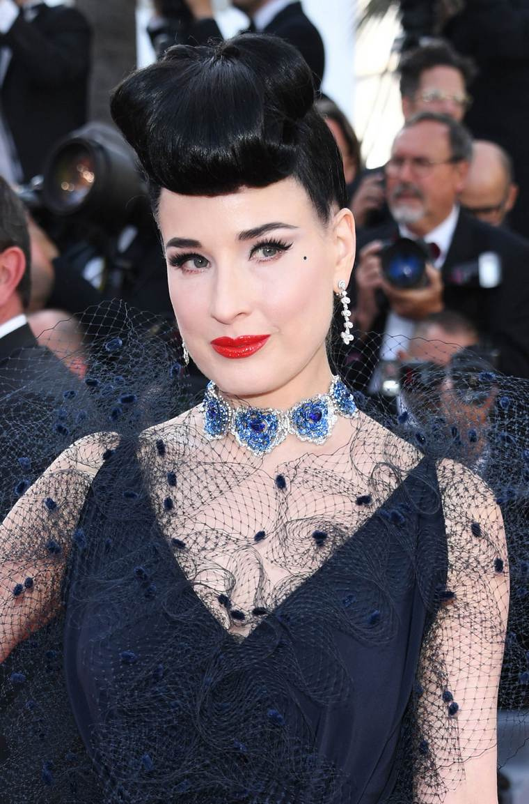 Cannes 2019 Dita Von Teese Chopard