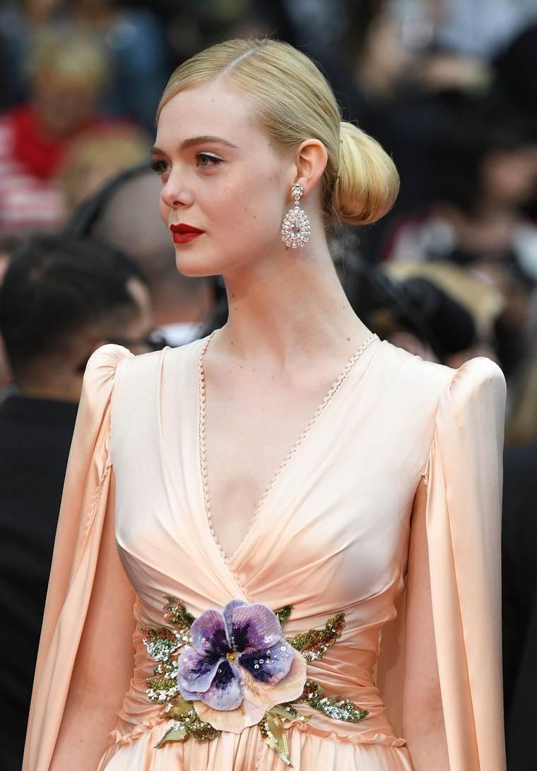 Cannes 2019 Elle Fanning Chopard