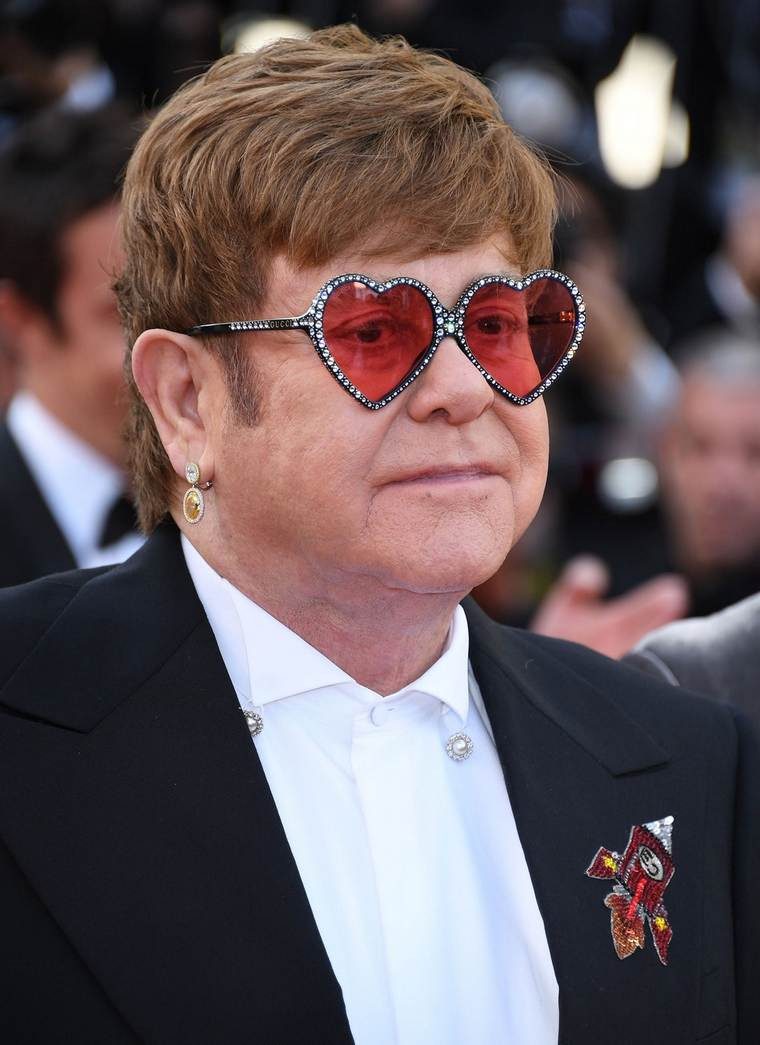 Cannes 2019 Elton John Chopard