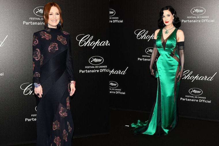 Cannes 2019 Julianne Moore Dita von Teese Chopard