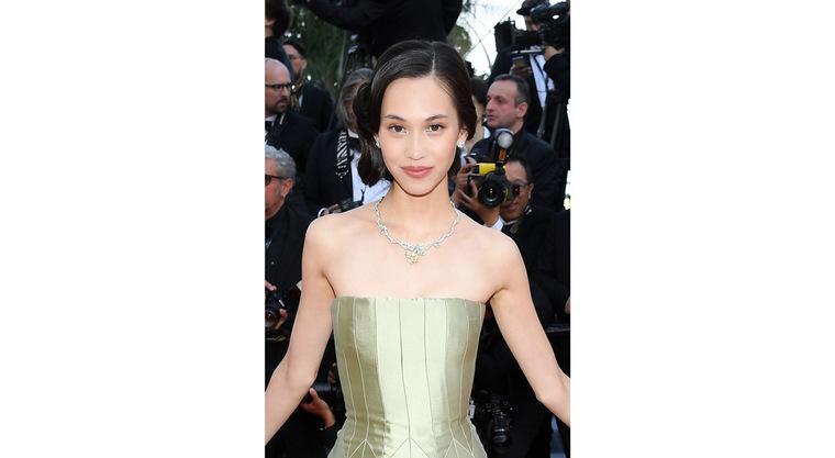 Cannes 2019 Kiko Mizuhara Dior Bagatelle