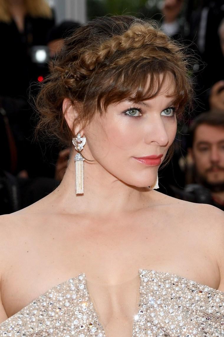 Cannes 2019 Milla Jovovich Earrings Boucheron