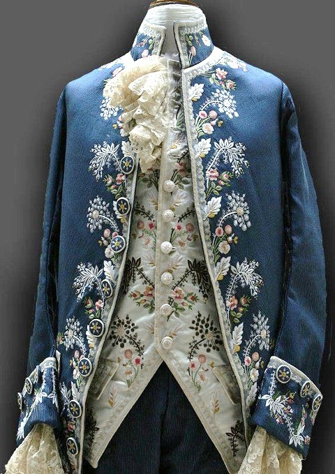 Old Fashioned Clothes Embroided Noble S Coat Fashion
