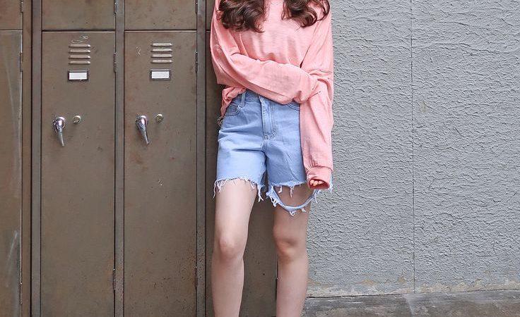 Korean Fashion  : 핑쿠💗😊💓핑크 컬러는 피팅 촬영된 사진보다 하단의 상…