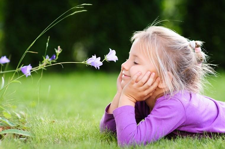 children's allergy to spring pollen