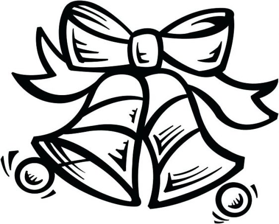 christmas bells to color for drawings of christmas bells to paint