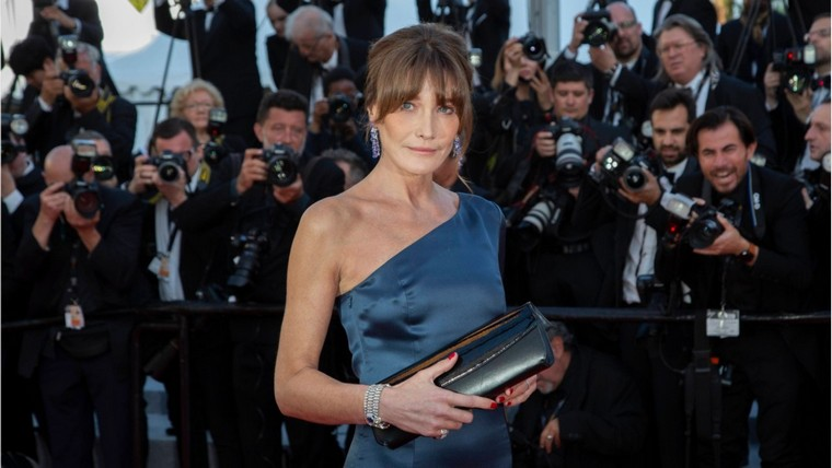 cannes 2019 Carla Bruni Sarkozy Bulgari