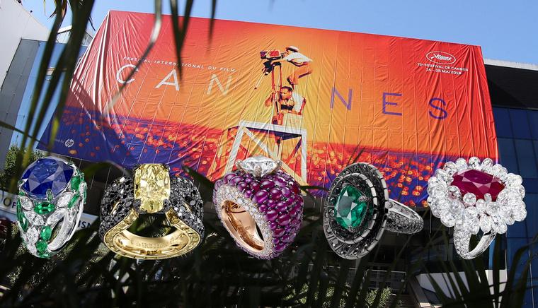 de Grisogono Cannes 2019 rings